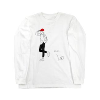 うっかりさん Long sleeve T-shirts