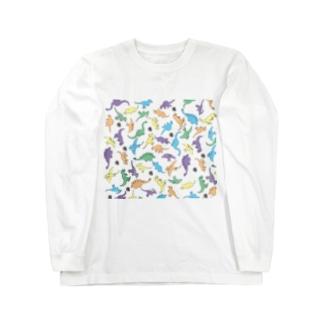 きょうりゅういっぱい Long sleeve T-shirts