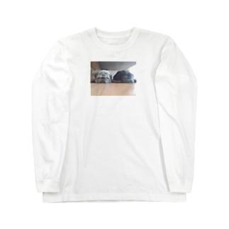 ねむたいぜ♡ Long sleeve T-shirts