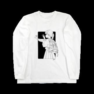 ツヅキエイミ  オリジナルグッズショップのまだ撮らないで! Long sleeve T-shirts