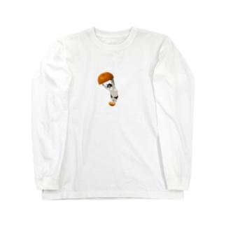 元野良猫 Long sleeve T-shirts