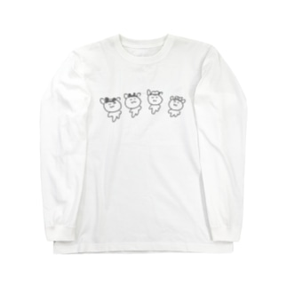 どこかのてーまぱーく Long sleeve T-shirts