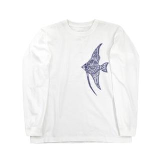 天使魚 Long sleeve T-shirts