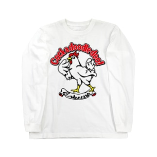 アメリカンテイストチキン Long sleeve T-shirts