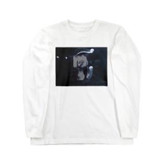 波と水母 Long sleeve T-shirts