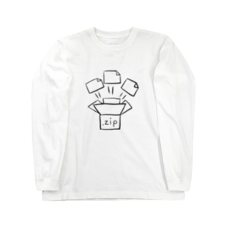 じっぷふぁいる Long sleeve T-shirts