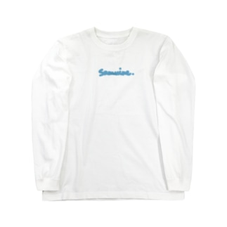 さむいね Long sleeve T-shirts