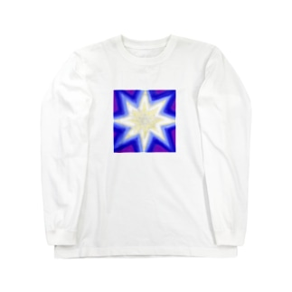 ベツレヘムの星(Blue Violet) Long sleeve T-shirts