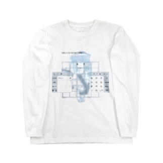 優勢遺伝子 Long sleeve T-shirts