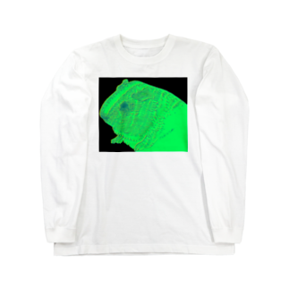 nins・にんずのneon guinea pig Long sleeve T-shirts