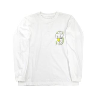 パワフルSバランス君 Long sleeve T-shirts