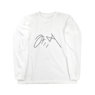 みぃタ展DMウラ Long sleeve T-shirts