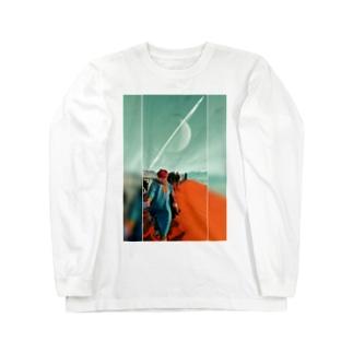 Saturn Long sleeve T-shirts