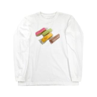 ウエハースサンド Long sleeve T-shirts