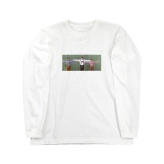 Tの三人 nanaco edition Long sleeve T-shirts
