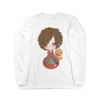 クッキーマン Long sleeve T-shirts