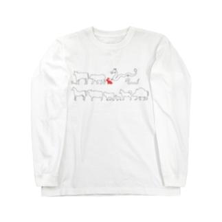 十二支(卯) Long sleeve T-shirts