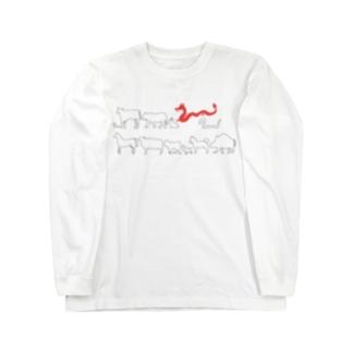 十二支(辰) Long sleeve T-shirts