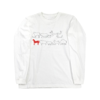 十二支(午) Long sleeve T-shirts