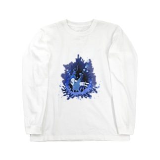 物部書房の『消える香りと私』 Long sleeve T-shirts