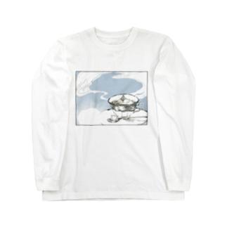 『拡がる』 Long sleeve T-shirts
