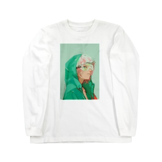 花粉 Long sleeve T-shirts