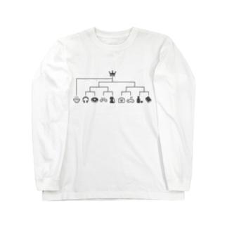 スーパーシードラーメン Long sleeve T-shirts