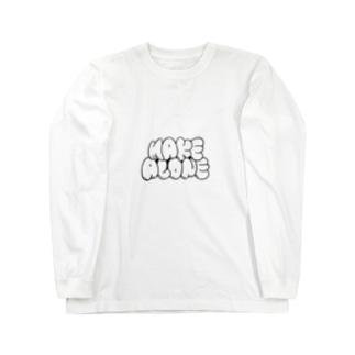 make alone  Long sleeve T-shirts