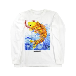 鯉図 Long sleeve T-shirts