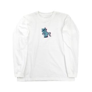 逮捕ちゃんねこ Long sleeve T-shirts
