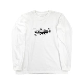 シーラカンス Long sleeve T-shirts