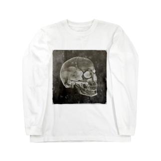 💀スカル Long sleeve T-shirts