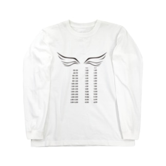 POINTS WING Long sleeve T-shirts