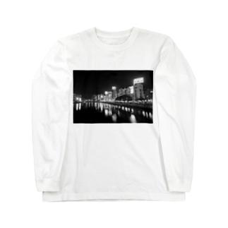 Nakasu  city Long sleeve T-shirts