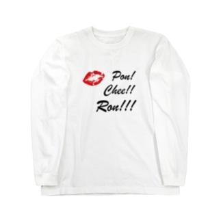 CLAIM LIPS Long sleeve T-shirts