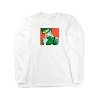 サンバイザー Long sleeve T-shirts