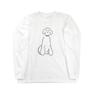 スタンダードプードル Long sleeve T-shirts