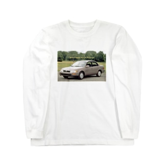 Vaporwave NERD CAR Long sleeve T-shirts