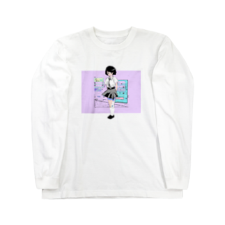 !あんにゅいぽっぽ!の午後の Long sleeve T-shirts