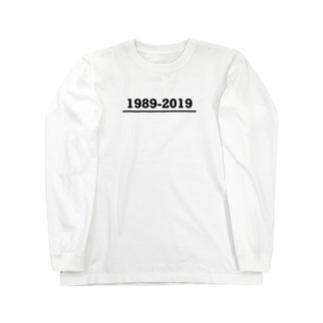 1989-2019 Long sleeve T-shirts