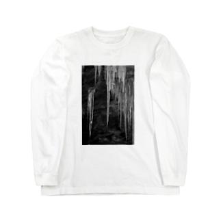 氷柱 Long sleeve T-shirts