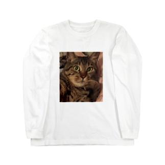 しまおちゃんあっぷ Long sleeve T-shirts