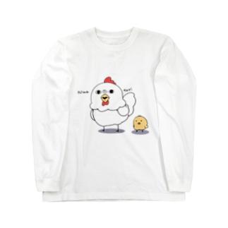 niwatori Long sleeve T-shirts