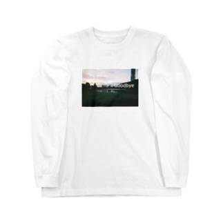 Goodbye Long sleeve T-shirts