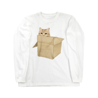にゃんぼーる Long sleeve T-shirts
