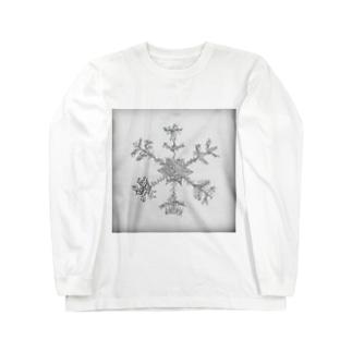 ゼンタングルスノー Long sleeve T-shirts