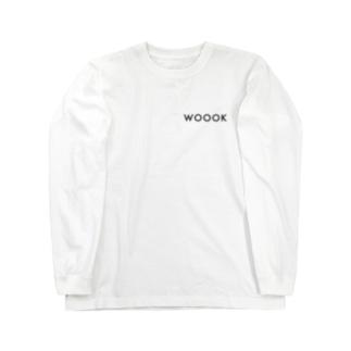 WOOOK - simple Long sleeve T-shirts