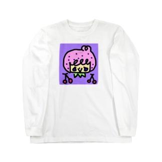 プリティボーイとさくらんぼ Long sleeve T-shirts