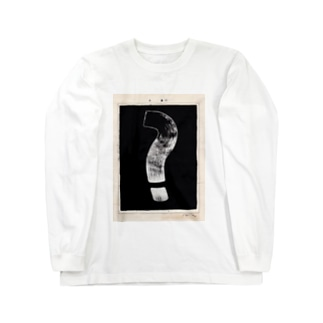 question・mark Long sleeve T-shirts
