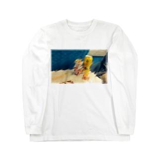 新幹線飲酒Tシャツ Long sleeve T-shirts